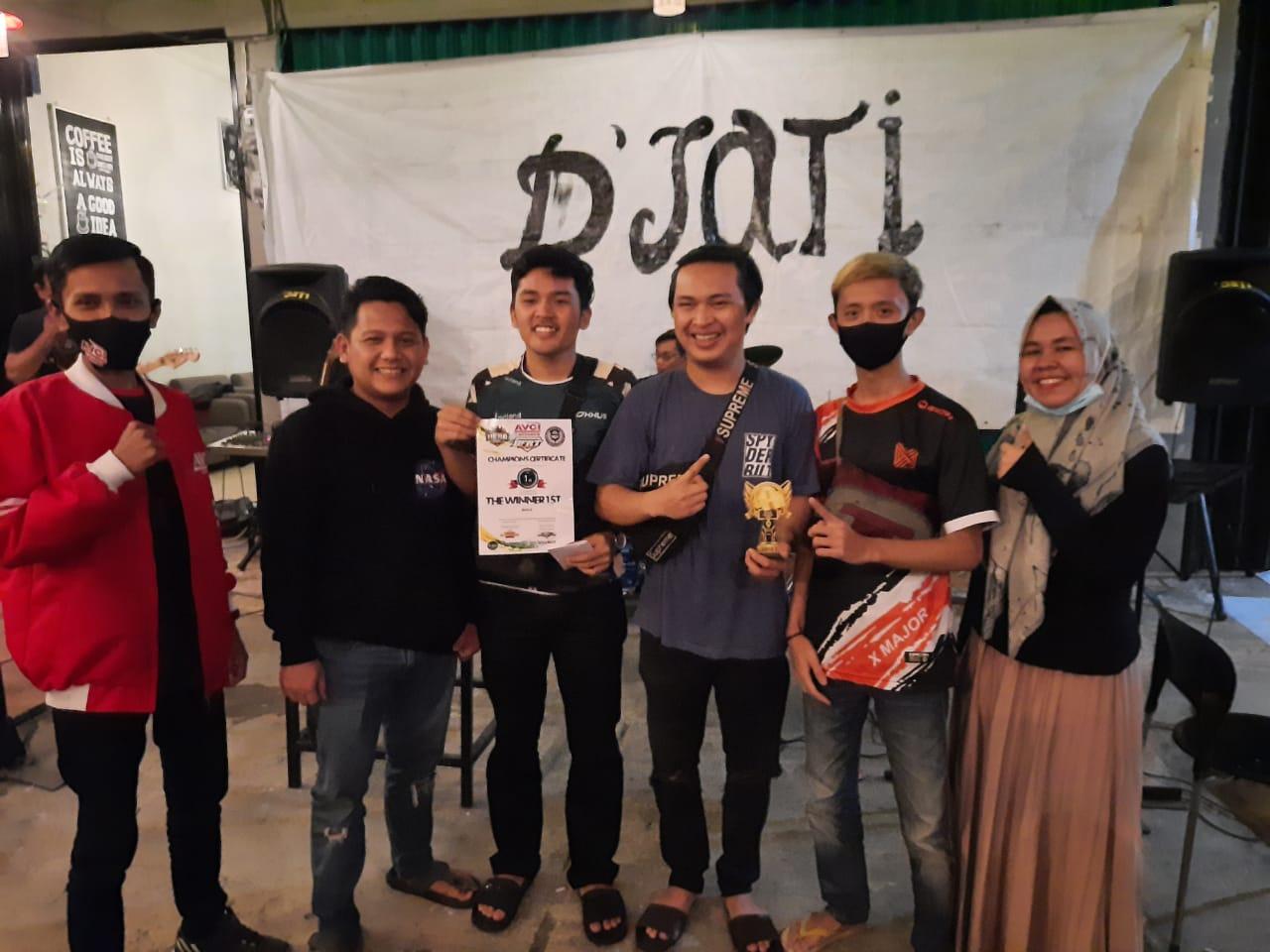 Tim Oxus Clan Juara 1 PUBG Turnament Djati AVGI